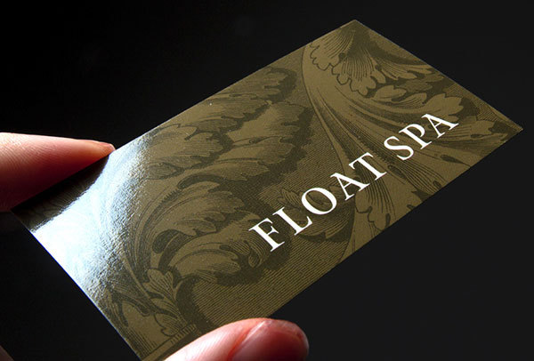 High Gloss Business Card
