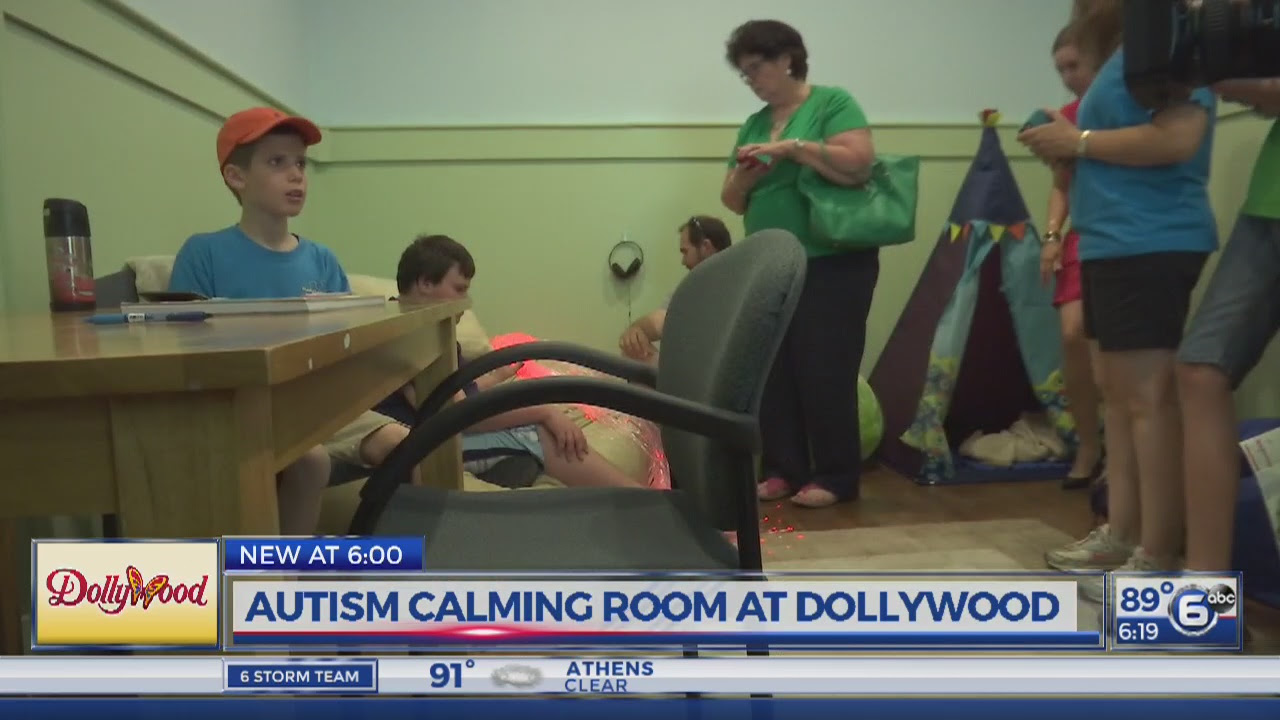 Dollywood Adds Calming Room to Help Kids With Sensory Overload (Video)