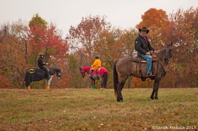 Frost on the Pumpkin Ride - Cowboy meets Batman & Robin!
