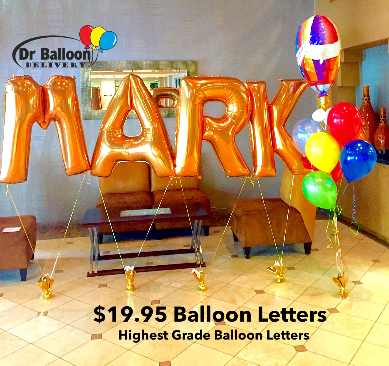 party city letter balloons dr balloon delivery 310 215 0700 los angeles in la 23904 | Balloon Letters