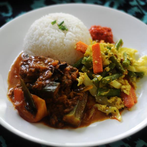 Recipe: Salmon Fish Curry
