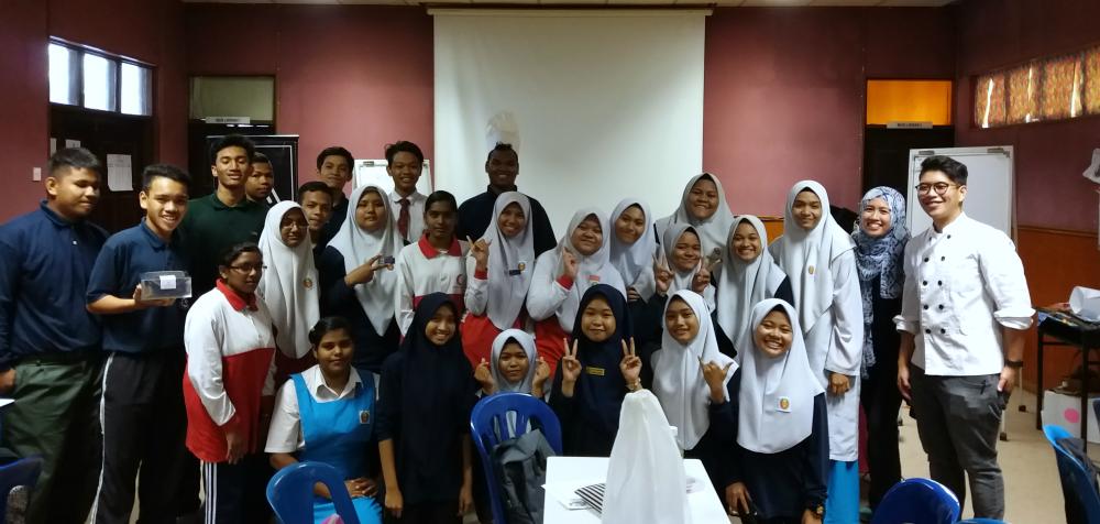 SMK Lembah Subang Students
