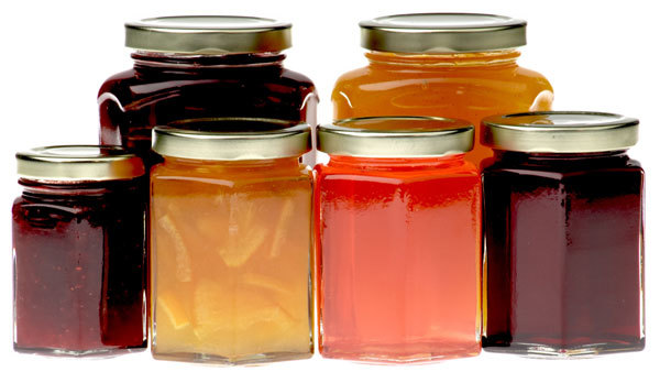 hexagonal-jam-jars