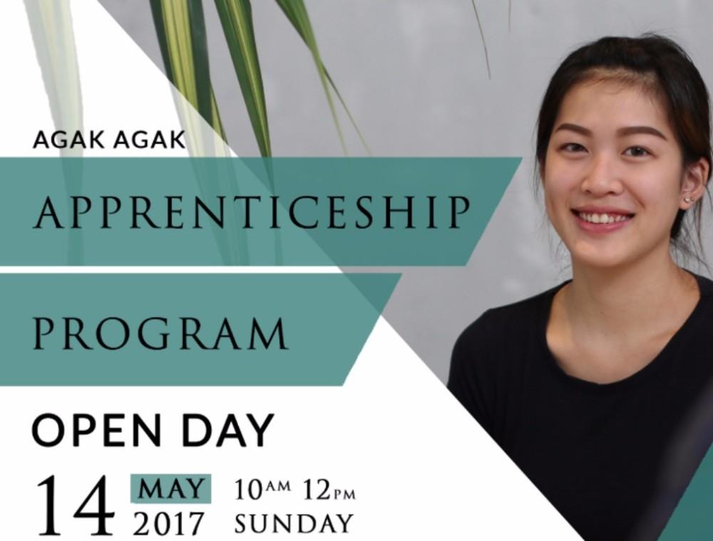 RECAP: Agak Agak Apprenticeship Program Open Day 14 May 2017
