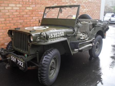 TA Lingard Military Cars