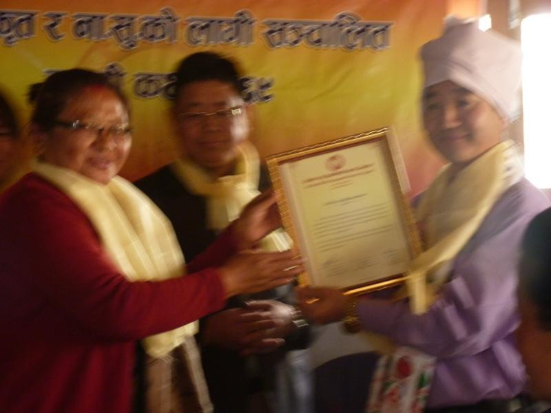 UKROA gains affiliation with Kirat Rai Yayokha. (14 Feb, 2013)