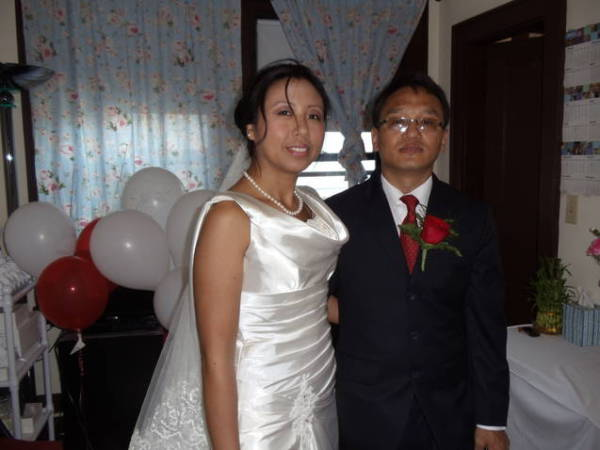Congratulation to the newly wed couple