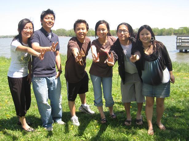 NE local chapter members at Sakela 2009.