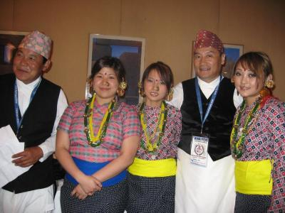 UKROA participation in annual convention of Association of Nepali in America (ANA) 2007