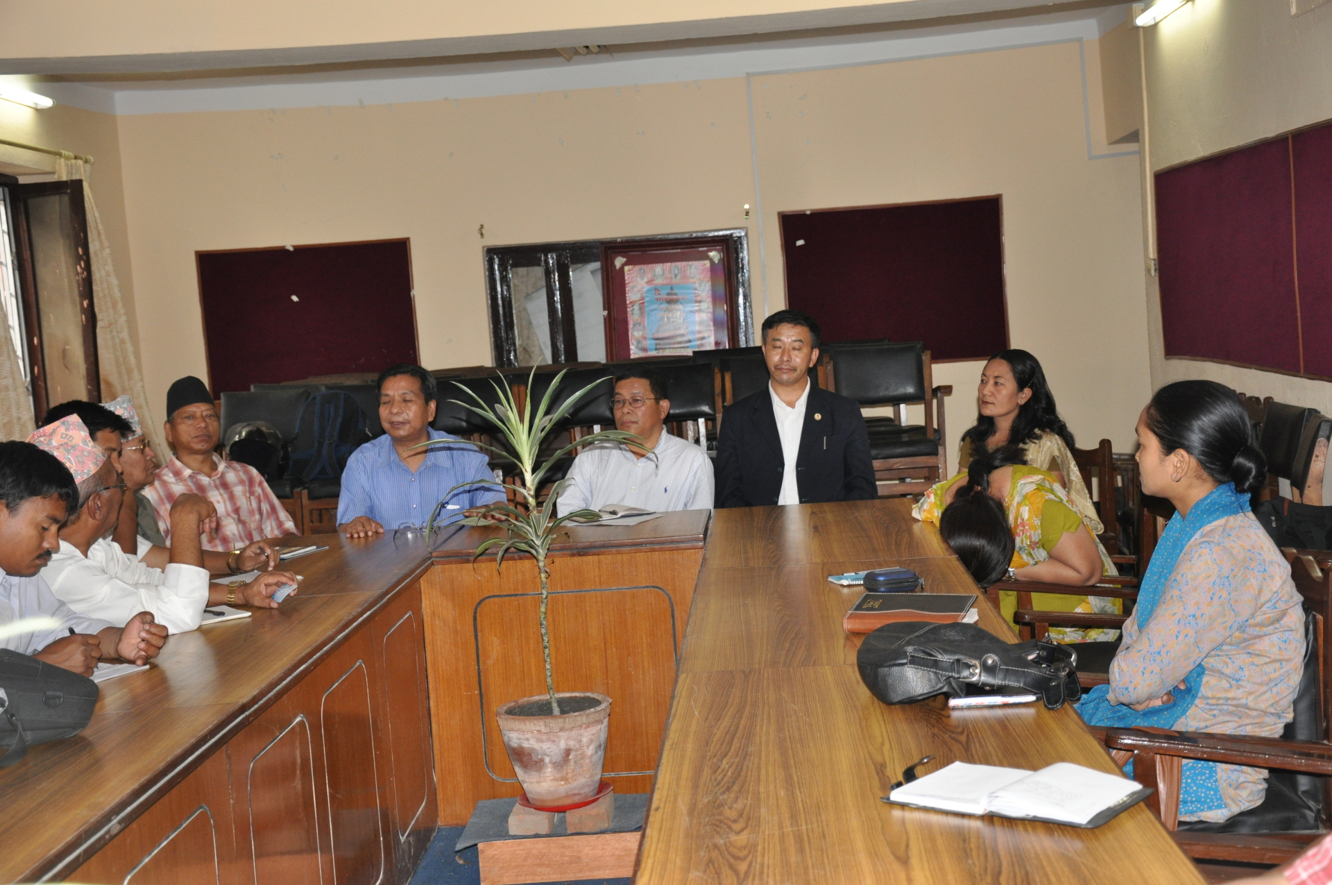 Meeting with NFDIN