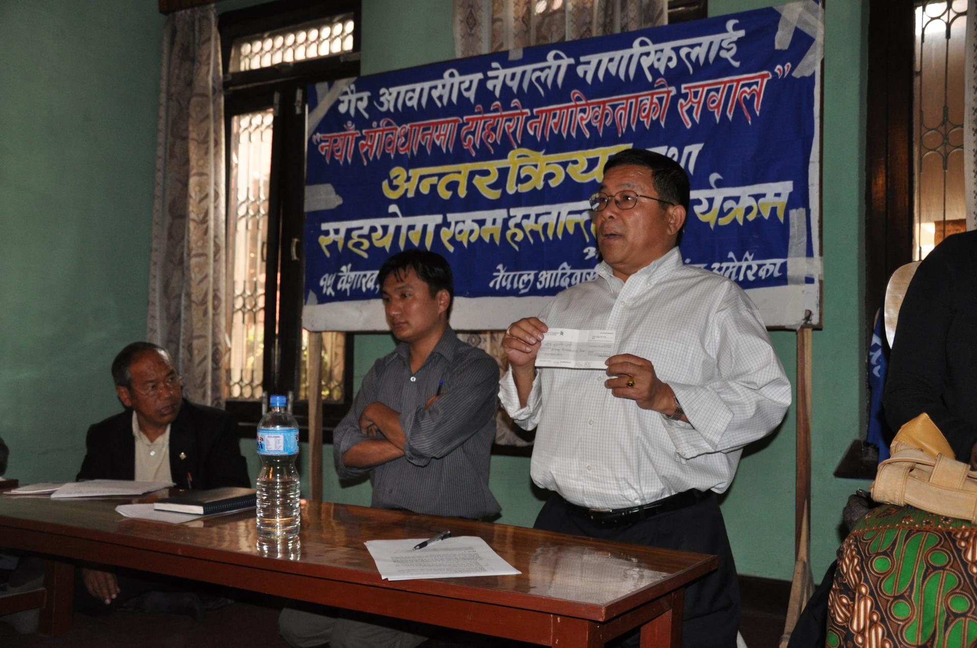 President Shiv K Rai