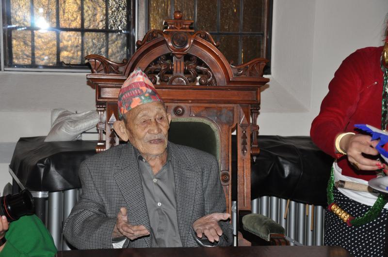 Centenarian Kashi Ram Rai
