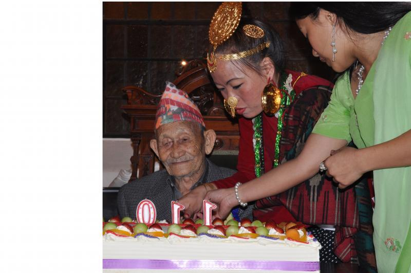 Celebrating a centenarian's 110th birthday
