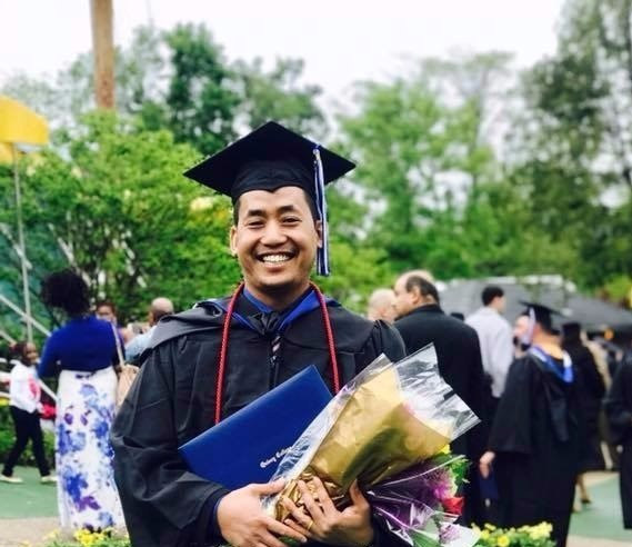 Congratulation to the new graduate