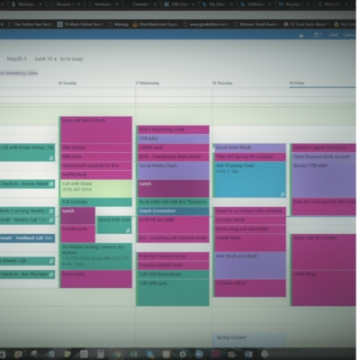 Micromanaging Your Productivity
