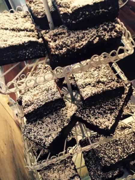 Gooey  choc brownies
