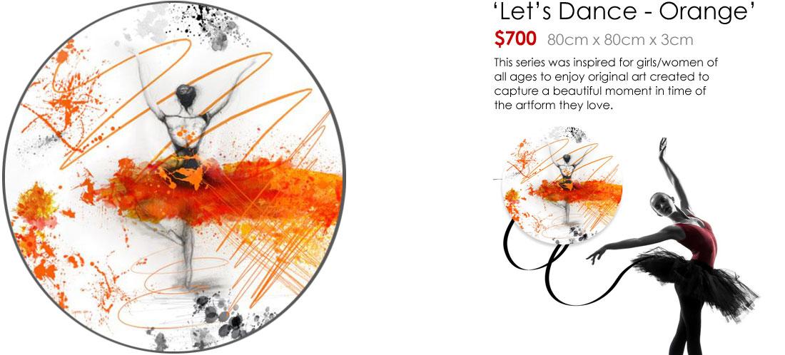 Let's Dance - Orange