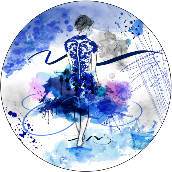 LET'S DANCE - BLUE $800