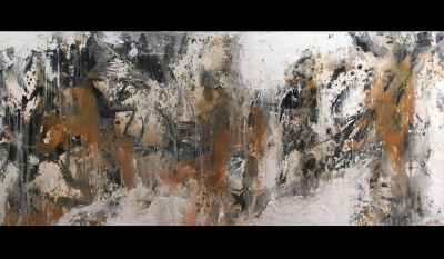 TAKING A CHANCE - $1,300 - 153cm x 61cm x 4cm