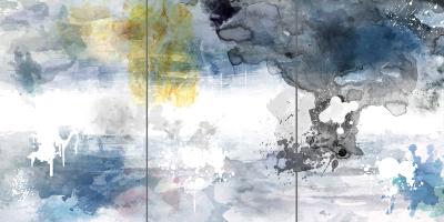CRYSTAL CLEAR - Triptych - $1,900 - 120cm x 240cm x 3cm