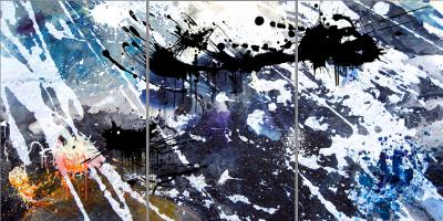 APPRECIATION - Triptych - $1,900 - 120cm x 240cm x 3cm