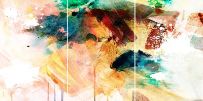 BRING ME PEACE - Triptych - $2,400 - 120cm x 240cm x 3cm