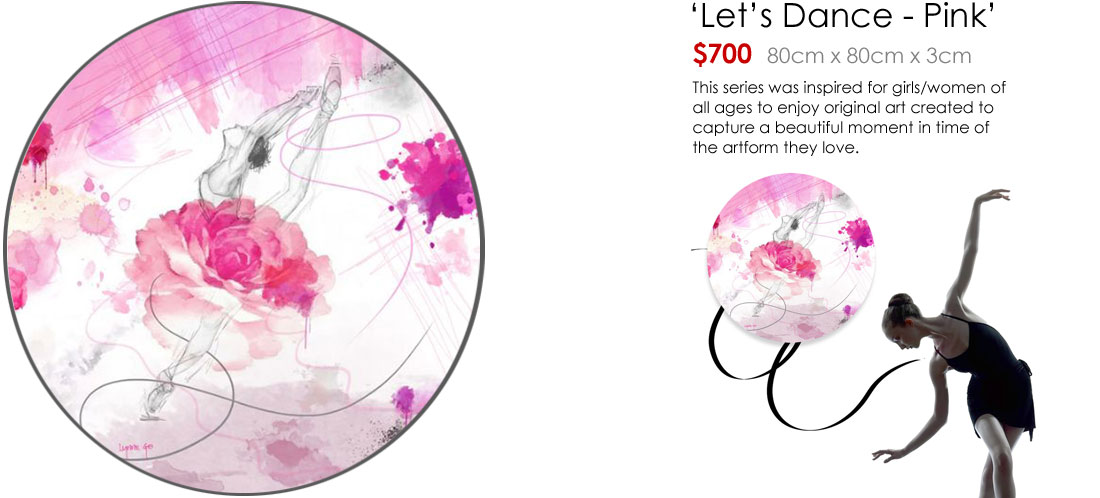 Let's Dance - Pink