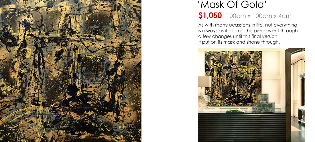 Mask Of Gold