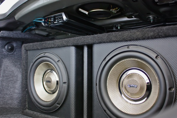 Infinity Subwoofers and Amp - 2009 Cadillac CTS-V