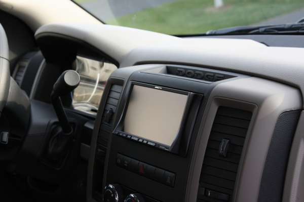Alpine Navigation/Video - 2013 Dodge Ram 2500