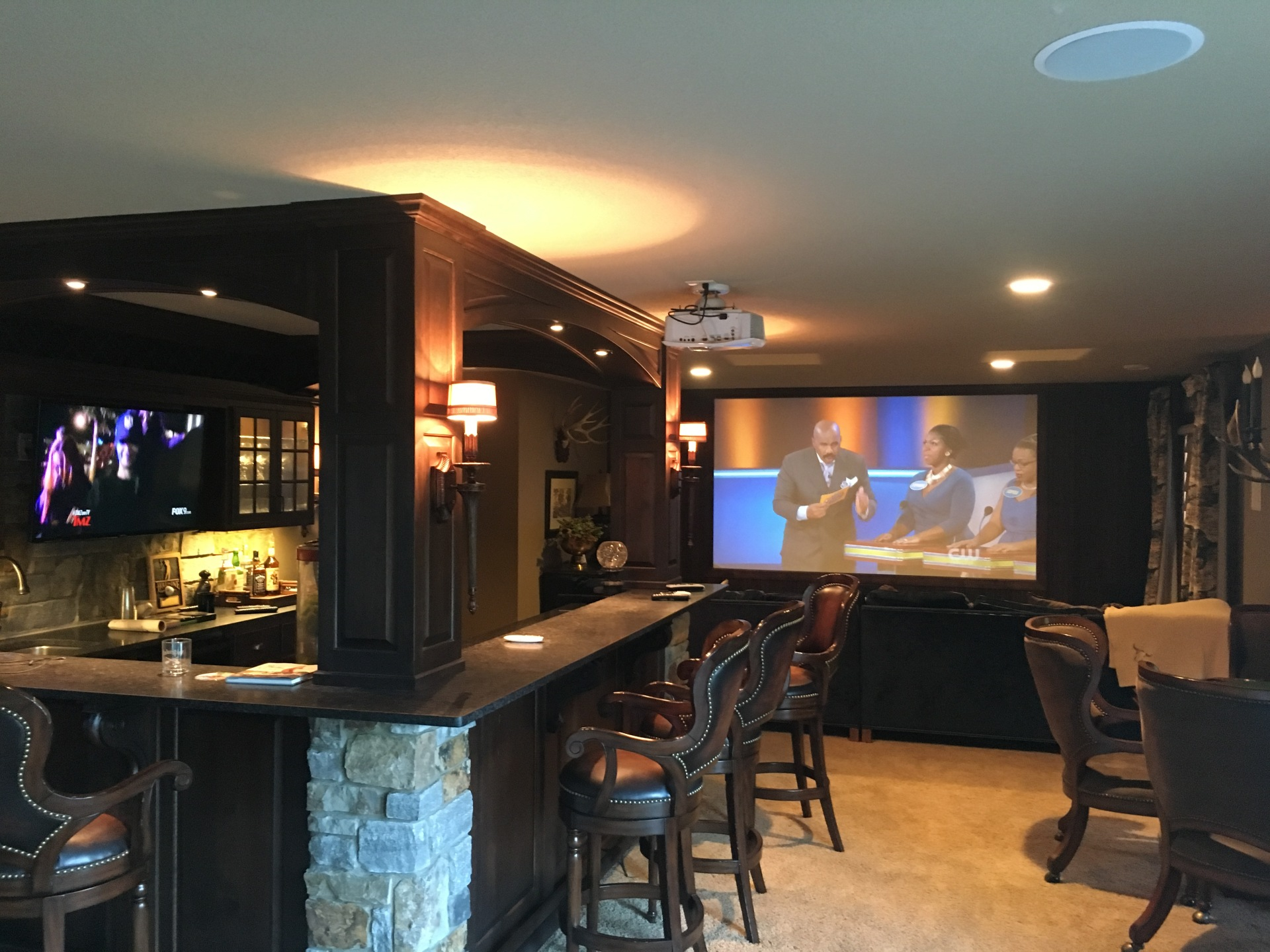 Home Theater by Wheels to Waves