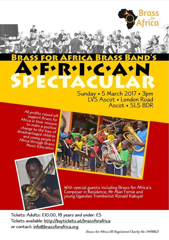 Brass for Africa Brass Band's African Spectacular!