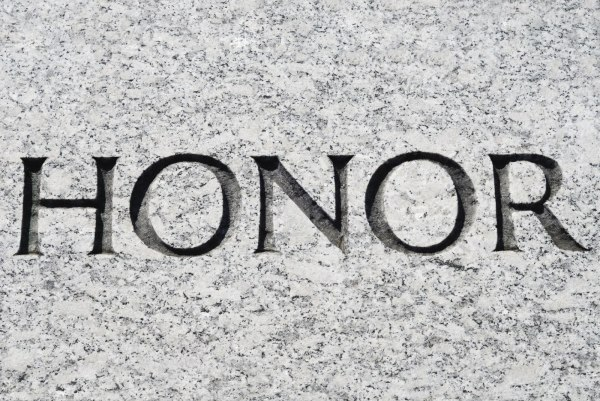 Honoring Those in Authority