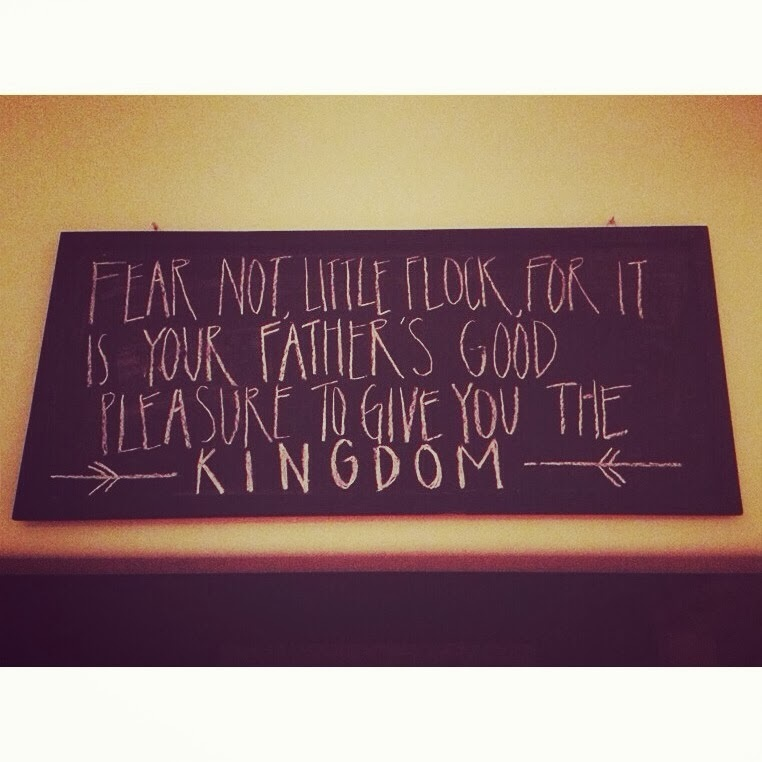 Fear, Anxiety, and the Kingdom