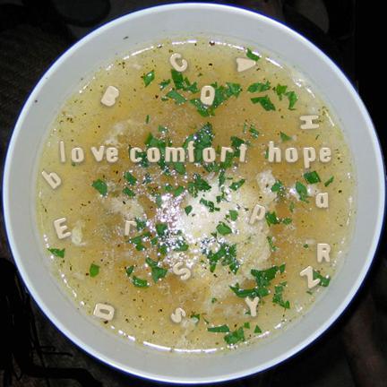 Love. Comfort. Hope.
