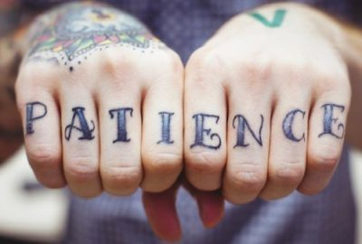 Just a Little Patience . . . Yeah.