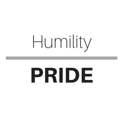 Humility or Pride?
