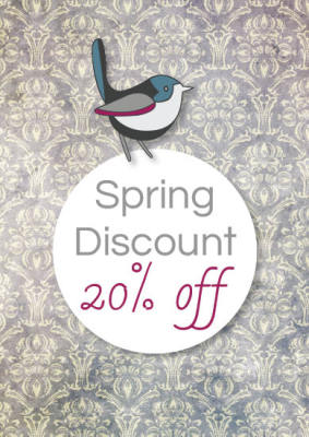 Spring Discount 20% OFF !