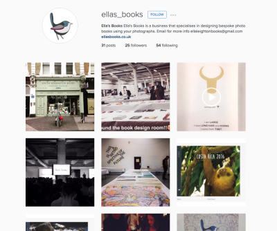 Ella's Books on Instagram!