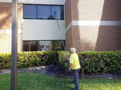 Tharsys Window Cleaning LLC Commercial twice a year Account