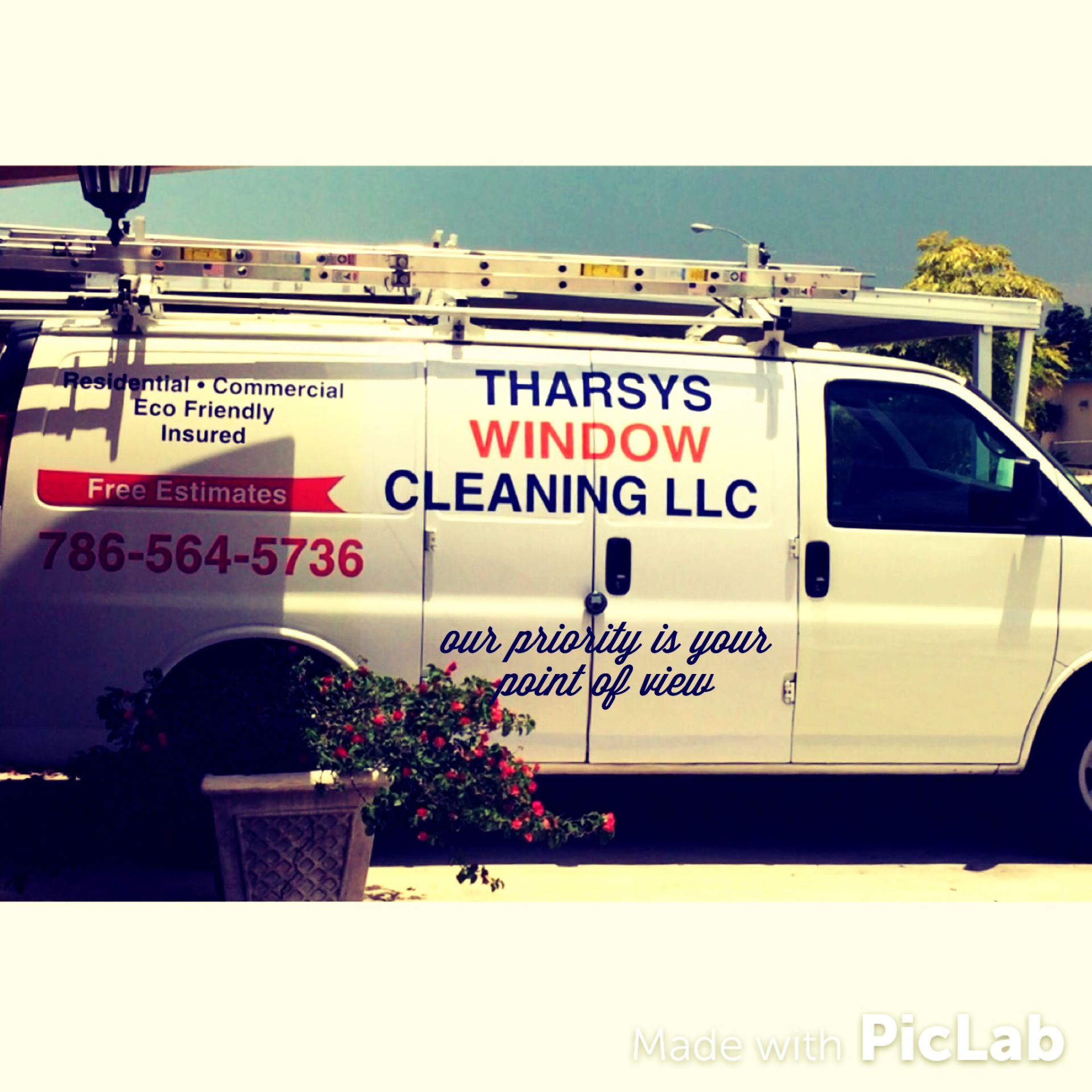 Tharsys WIndow Cleaning LLC