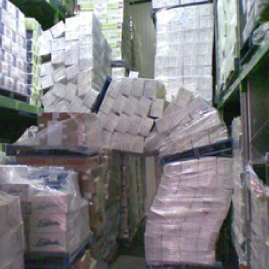 Pallet Containment and Product Damage
