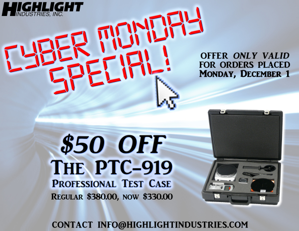 Cyber Monday Special from Highlight