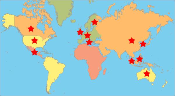 Highlight Around the World