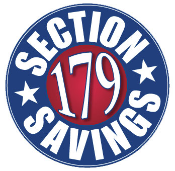 Section 179: How YOU can save money!