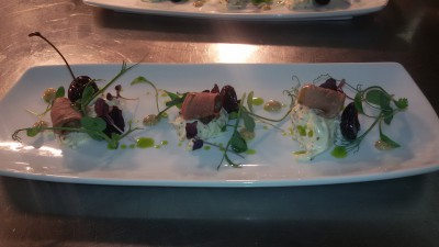 House smoked duck breast