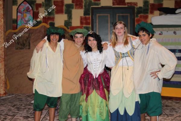 Stefan Panatex, John Pickens, Sarena Panatex, Breanna Trent & Cody Tasker are the Swamp Teens