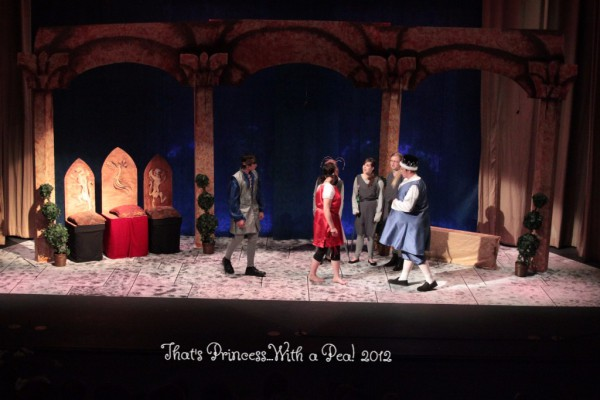 Dalton Willett, Stephanie VanDyke, Michele Gawlik-fjeld, Amber Cyr, Jennifer Matthews & John Todd in THAT'S PRINCESS...
