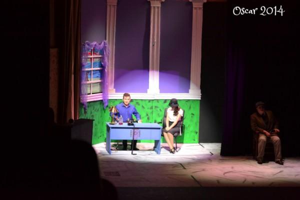 Sam Eaton & Jordin Cozby in OSCAR 2014
