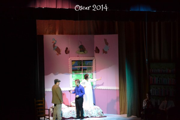 Ryan DIlbeck, Sam Eaton & Jessica Sullivan in OSCAR 2014